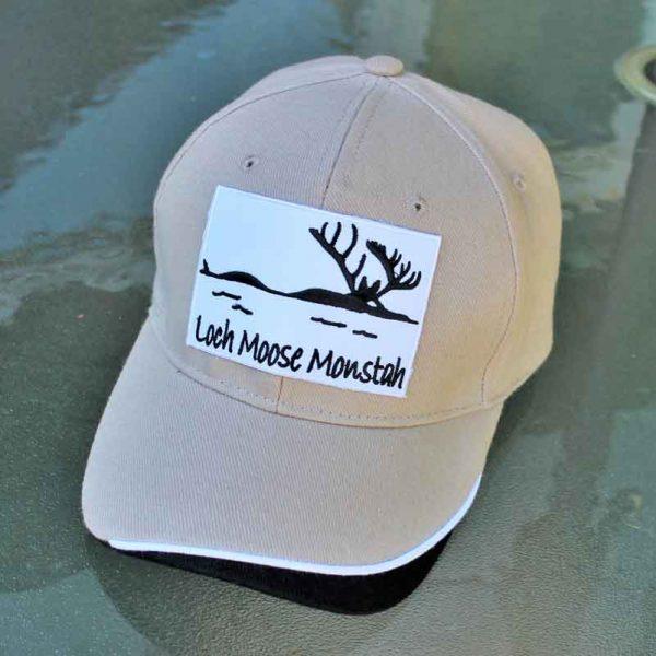 loch-moose-monstah-cap-hat made in Maine