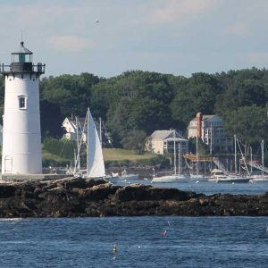 white-lighthouse Maine